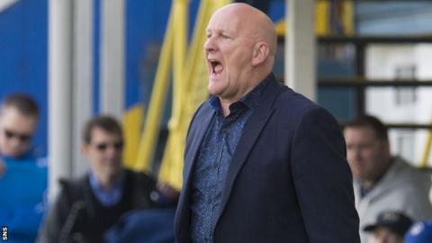 Dumbarton manager Jim Duffy
