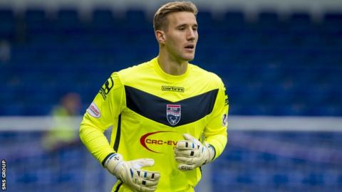 Gary Woods spent time at Ross County last season