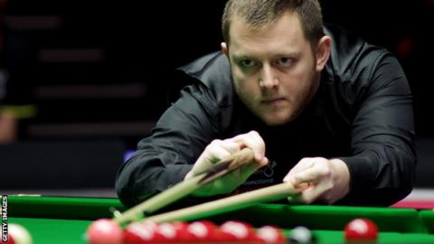 Mark Allen compiled a best break of 95 in the China Championship semi-final