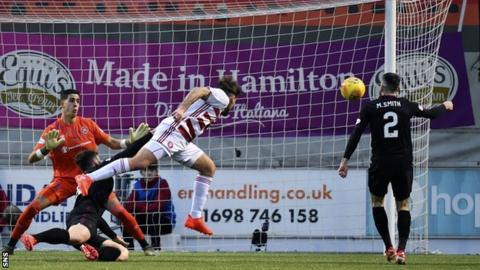 Hearts have taken just a point from two games against Hamilton this season