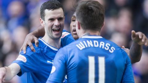 Jamie Murphy fires Rangers in front
