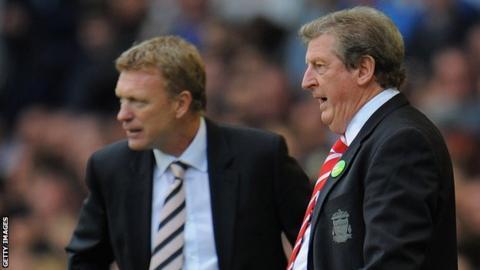 David Moyes and Roy Hodgson