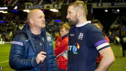 Gregor Townsend and John Barclay