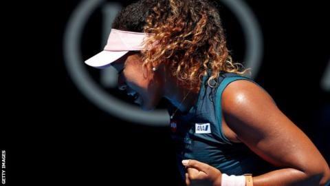 Reigning US Open champ Osaka survives scare in Melbourne