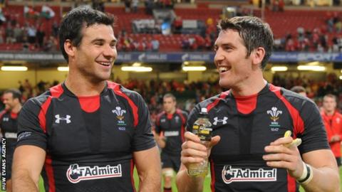 James Hook and Mike Phillips