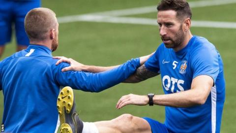 Broadfoot left Kilmarnock after becoming disillusioned with Alessio's training regime