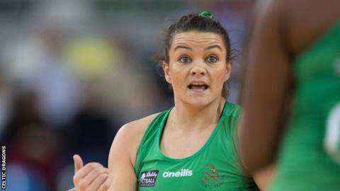 Nia Jones has played football and netball for Wales