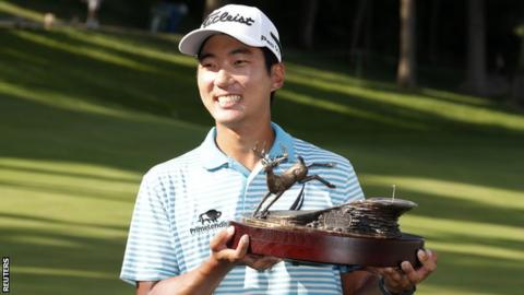 Michael Kim had not won on the PGA Tour prior to the John Deere Classic