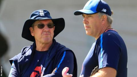 Trevor Bayliss and Chris Silverwood