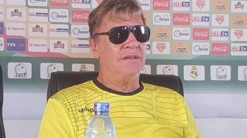 Brazilian coach Antonio Dumas