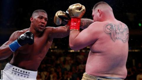 Joshua was beaten by Ruiz in a shock on 1 June