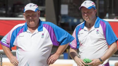 Alex Marshall and Paul Foster were beaten in the final as they defended their pairs title
