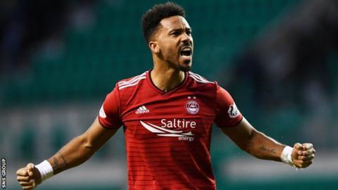 Aberdeen defender Shay Logan