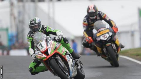 Irwin has won the last four Superbike races at the North West 200