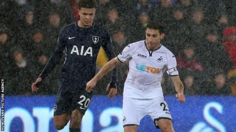 Angel Rangel and Dele Alli