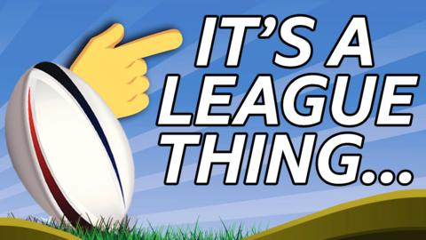 A graphic for BBC's It's A League Thing quiz