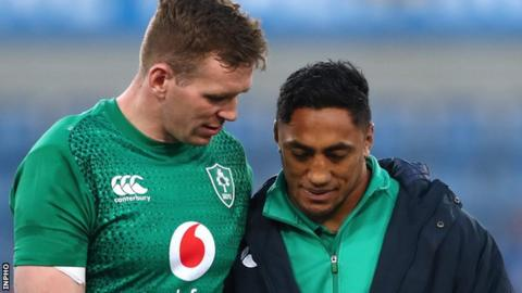 Farrell and Aki departed for Japan with the rest of the Ireland squad on Wednesday