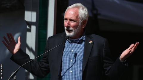 USA Track and Field president Vin Lananna