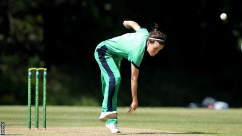 Irish medium pace bowler Lara Maritz