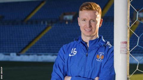 Boyd had been spending two days a week at Rugby Park gaining an insight into the running of the club