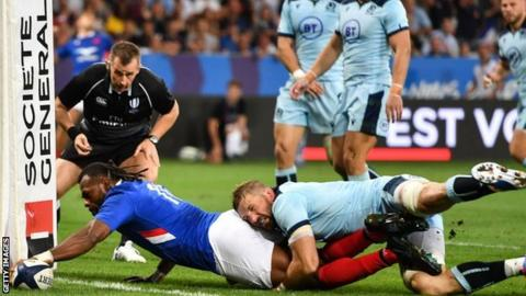 Gregor Townsend: Scotland need 'big improvement' after France loss