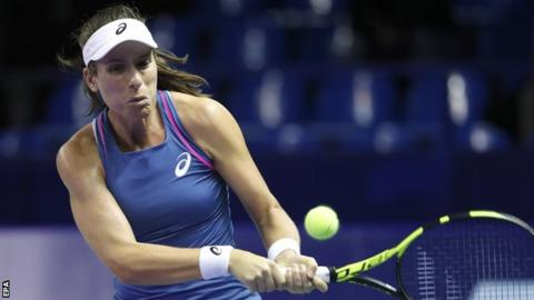 Johanna Konta beaten in Kremlin Cup semi-final