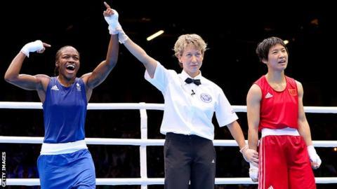Nicola Adams wins flyweight gold at London 2012