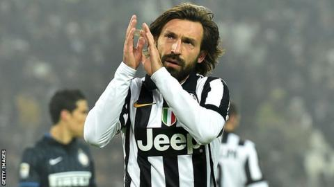 Juventus ta naɗa Andrea Pirlo a matsayin kocinta