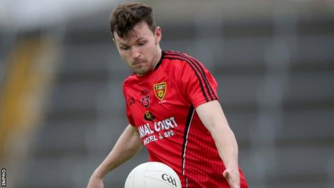 Donal O'Hare's three goals proved the difference between the teams in Longford