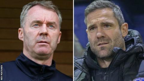 John Sheridan (left) & David Dunn