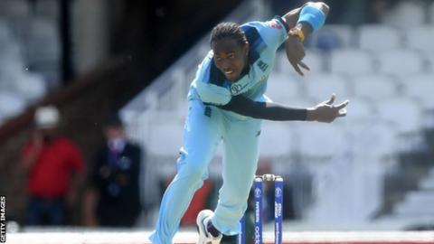 Cricket World Cup: Jofra Archer says England fans yet to see his