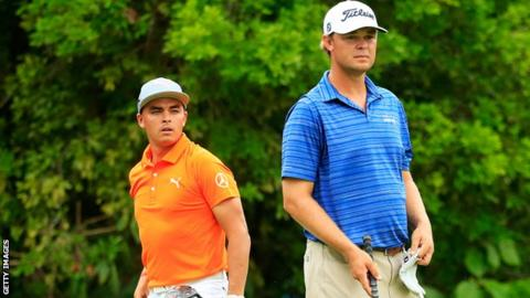 Rickie Fowler and Patton Kizzire