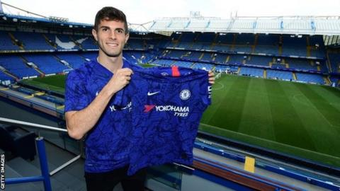 Pulisic wants to emulate Hazard at Chelsea