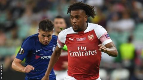 Alex Iwobi joins Everton while Nketiah gets loaned to Leeds United