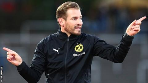 Jan Siewert has been under-23 coach at Borussia Dortmund