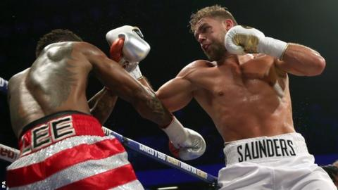 Billy Joe Saunders was making the second defence of his title