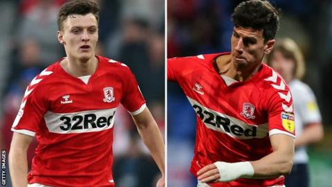 Dael Fry and Daniel Ayala