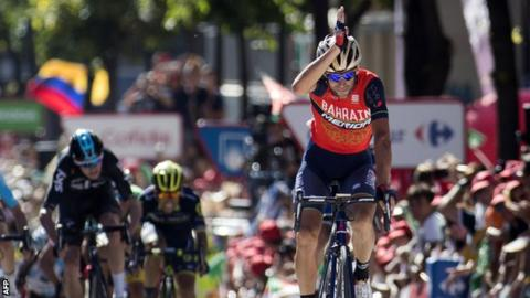 Vincenzo Nibali won the Vuelta in 2010