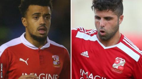 Nicky Ajose (left) & Yaser Kasim