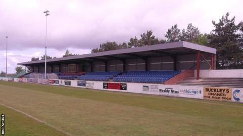 Colwyn Bay FC's Llanelian Road ground