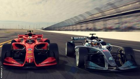 Formula 1 Reveals 2021 Car Concepts Bbc Sport