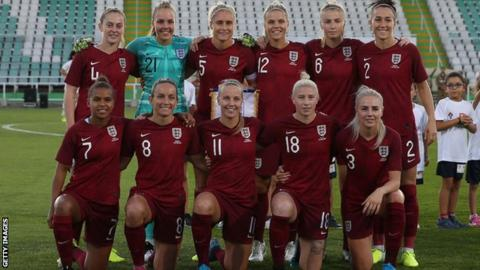 England's starting XI against Portugal