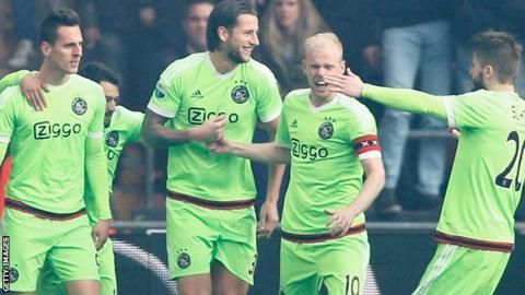 Ajax celebration