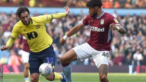 Tyrone Mings had not scored for Villa since his home debut, the 3-3 draw with Sheffield United in February
