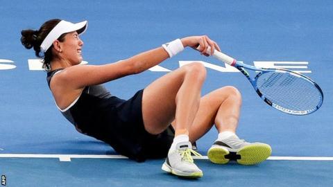 Johanna Konta begins 2018 with win over Madison Keys in Brisbane