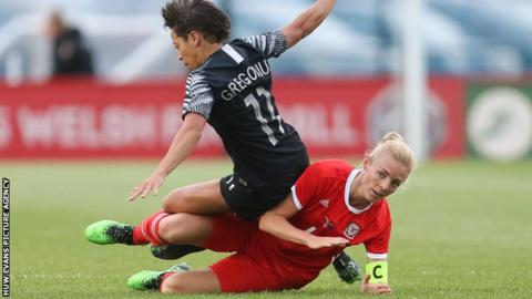 Sophie Ingle has won 97 caps for Wales since her debut in 2010
