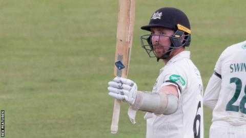 Gloucestershire batsman Tom Smith