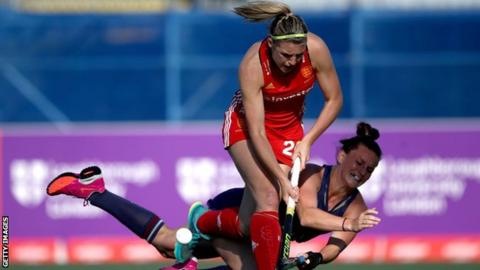 EuroHockey Championships 2019: England qualify for semis after narrow Belarus win