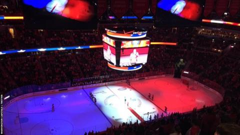 NHL match
