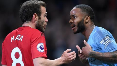 Juan Mata and Raheem Sterling